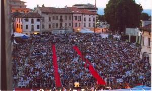 Opera in Piazza di Oderzo - il pubblico