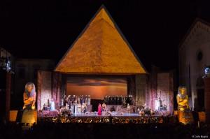 La Piramide di 27 metri per Aida a Oderzo